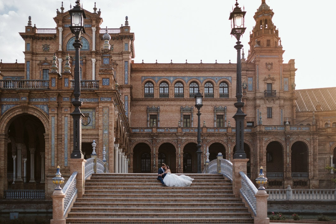 Spain's square Seville - wedding photographer spain-1