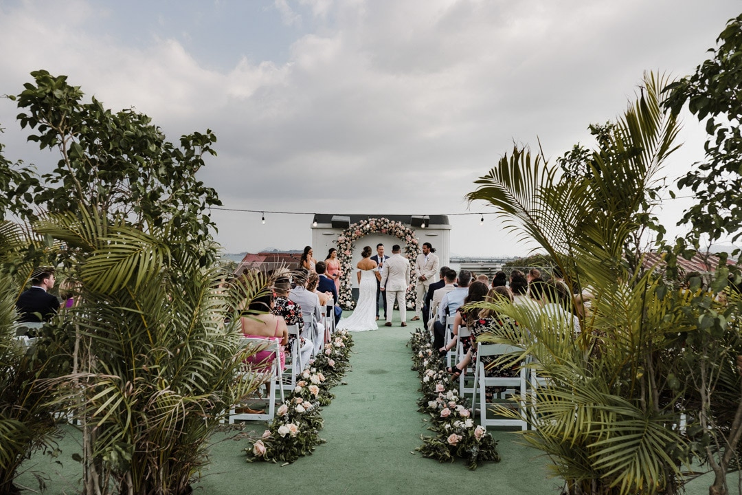 american trade roof top wedding - wedding photographer Panama-1