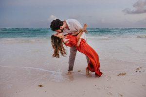 servizio fotografico di coppia Cancun Playa del Carmen