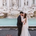Trevi Fountain Elopement Rome