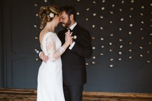 maison verte winter wedding