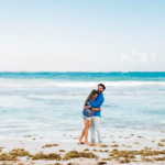 Tulum Mexico engagement session
